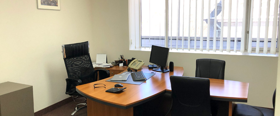 Rent office in the business center with an area of 120 sq m