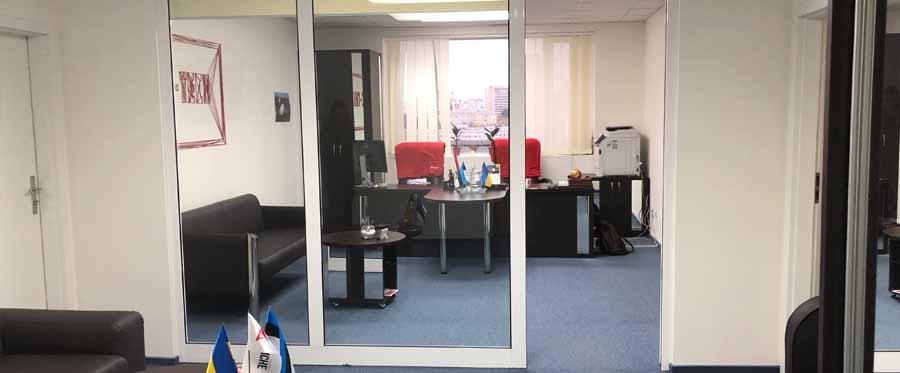 Rent office in the business center with an area of 207 sq m