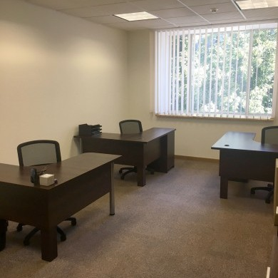 Rent office in the business center with an area of 114 sq m