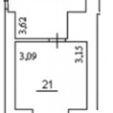 Оренда приміщень в бізнес центрі на 12 поверсі площею 30 кв м и 45 кв м