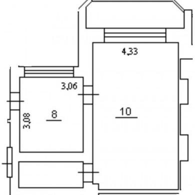 Оренда приміщень в бізнес центрі на 12 поверсі площею 45 кв м