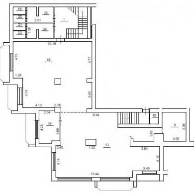 Оренда приміщень в бізнес центрі на 14 поверсі площею 345 кв м